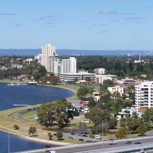 Perth Foreshore from Kings Park