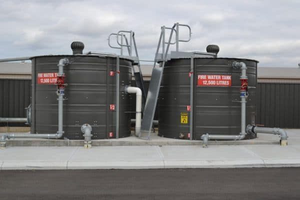 Fire Water Tanks 12500 litres