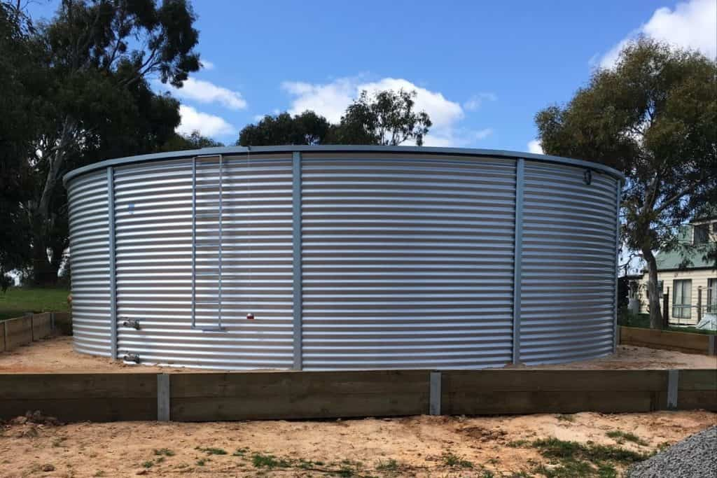 Corrugated tank Beaufort Vic