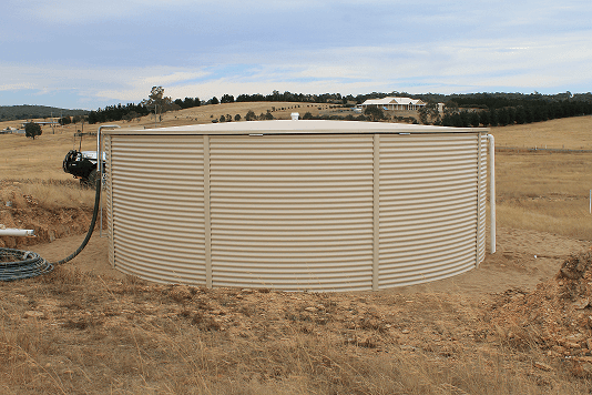 Corrugated tank NSW