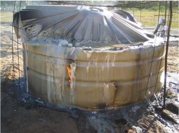 Poly Tank in Fire CRC Report 2007