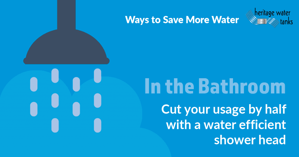 Waterwise Tips in the Bathroom - Shower