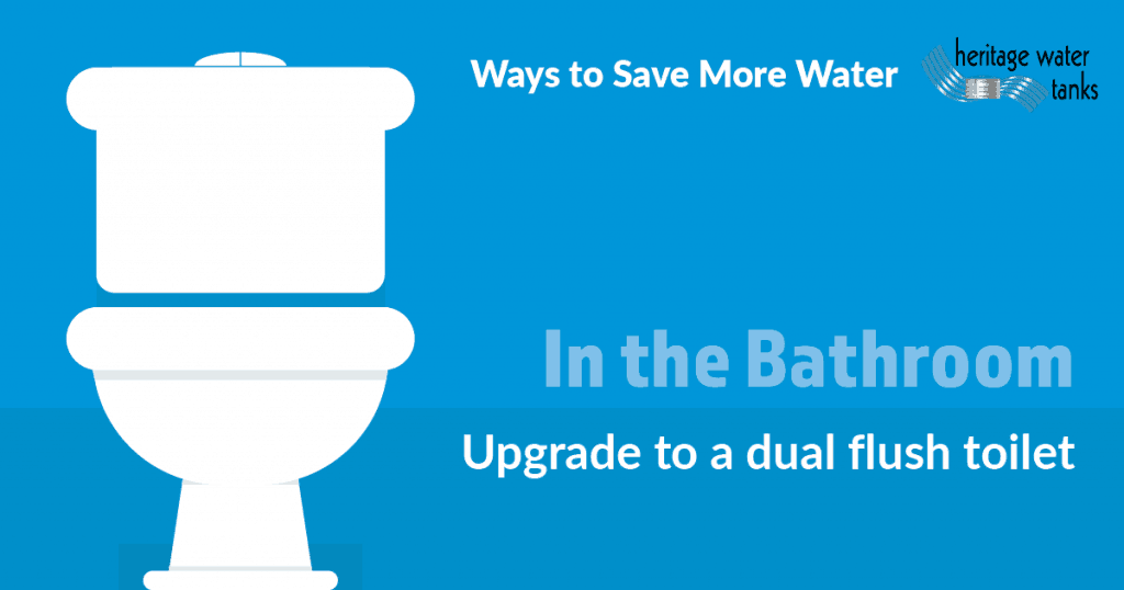 Waterwise Tips in the Bathroom - Dual Flush