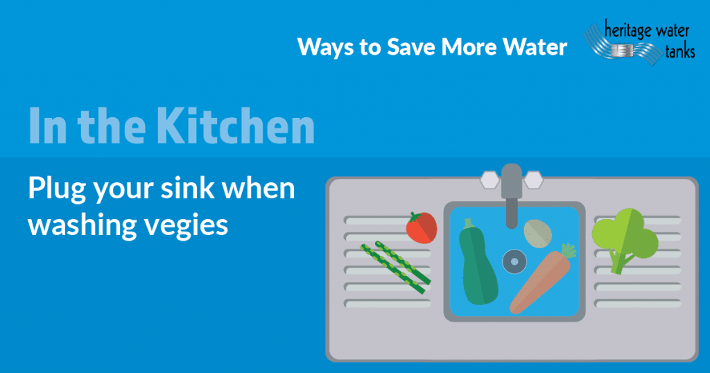 Waterwise Tips in the Kitchen - Sink
