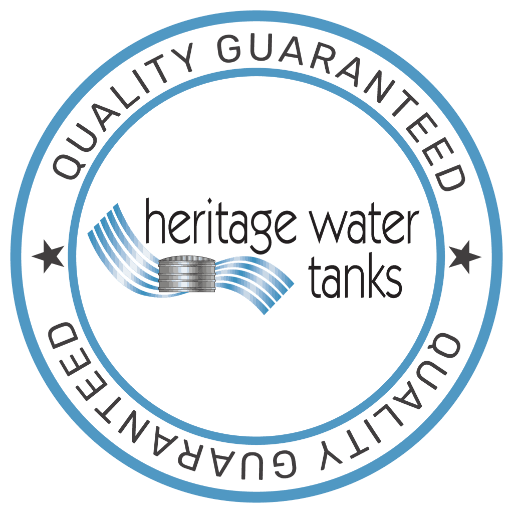 Heritage Water Tanks Quality_guaranteed_logo