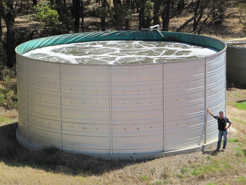 Wastewater Tank