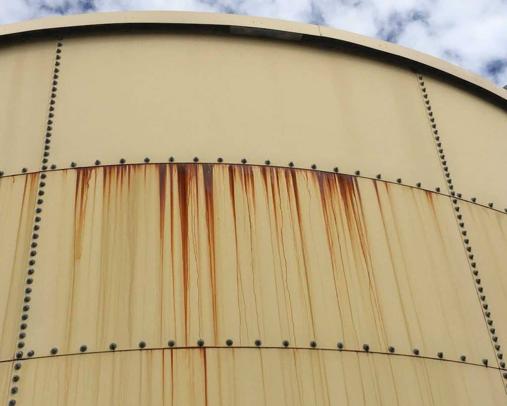 Water Tank Corrosion